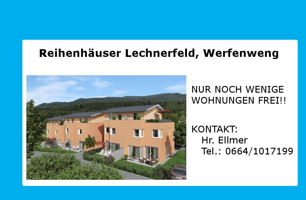 Reihenhäuser Lechnerfeld, Werfenweng